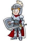 Knight. Vector illustration of Cartoon knight Stock Photo