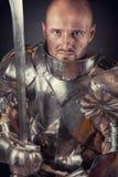 Knight wearing armor Royalty Free Stock Photos