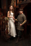 Knight wedding Stock Photography