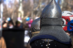 Knightly бой Стоковое Фото