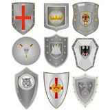 Knightly boards Stock Photography