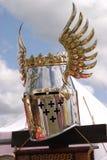 Knightly helmet Royalty Free Stock Photography