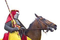 Knightly tournament. Stock Images