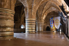 THE KNIGHTS'  KINGDOM in Akko Royalty Free Stock Photography