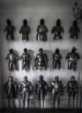 Knights a armadura em Meersburg Alemanha Imagem de Stock