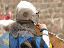 Knights in an armor Royalty Free Stock Photography