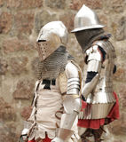 Knights in an armor Royalty Free Stock Photos
