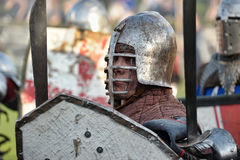 Knights in armor Royalty Free Stock Photos