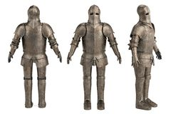 Knights armor. 3d render of knights armor Stock Images