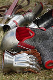 Knights armor equipment Royalty Free Stock Image