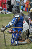 Knights armor at the historic festival Royalty Free Stock Images