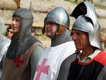 Knights in Armor Stock Photos
