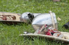 Knights armour Stock Photography