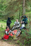Knights bivouac Royalty Free Stock Photo