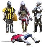 Knights Royalty Free Stock Photos