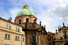 Knights of the Cross Square, Prague Royalty Free Stock Photography