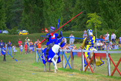 Knights duel Royalty Free Stock Images