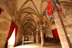 Knights el pasillo Fotos de archivo libres de regalías