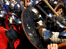 Knights fight Royalty Free Stock Photos