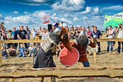 Knights fight Stock Photography