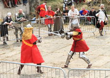 Knights fight Royalty Free Stock Photo