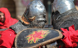 Knights fight Royalty Free Stock Photography