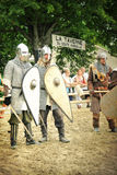 Knights fighting Royalty Free Stock Photo