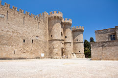 Knights Grand Master Palace. Rhodes Island, Greece. Royalty Free Stock Images