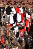 Knights i ricordi da Malbork in Polonia Immagine Stock Libera da Diritti