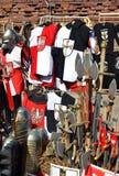 Knights i ricordi da Malbork in Polonia Fotografie Stock
