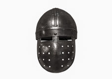 Knights il casco Fotografie Stock