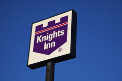 Knights Inn sign Royalty Free Stock Photography