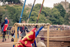 Knights Jousting Stock Photos
