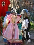 Knights lembranças de Malbork no Polônia Foto de Stock