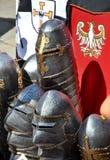Knights lembranças de Malbork no Polônia imagens de stock royalty free