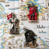 The Knights of Malta are souvenir toys. stock photos