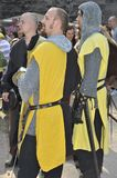 Knights at the Medieval Festival, Nuremberg 2013 Royalty Free Stock Photos