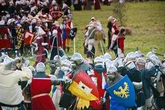Knights o exército imagem de stock royalty free