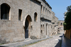 The Knights road, Rhodes, Greece Stock Photo