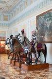 Knights Salão do eremitério, StPetersburg Imagem de Stock