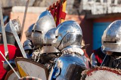 Knights squad Stock Photo