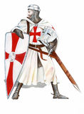 Knights Templar Royalty Free Stock Photos