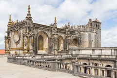 Knights of the Templar (Convents of Christ) castle detail, Tomar Royalty Free Stock Images