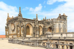 Knights of the Templar (Convents of Christ) castle detail, Tomar Stock Photos