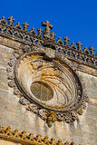 Knights of the Templar Convents of Christ castle - Tomar Portu Royalty Free Stock Images
