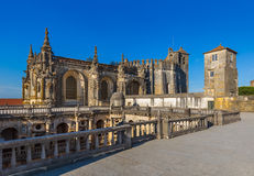 Knights of the Templar & x28;Convents of Christ& x29; castle - Tomar Portu Stock Image