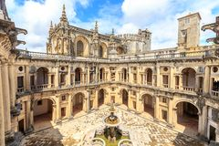 Knights of the Templar Convents of Christ in Tomar. Portugal Royalty Free Stock Photos