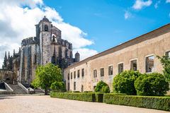 Knights of the Templar Convents of Christ Tomar, Lisbon Portugal. Stock Photography