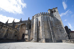 Knights of the Templar (Convents of Christ) in Tomar. Royalty Free Stock Photo