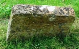 Knights Templar Gravestone stock image